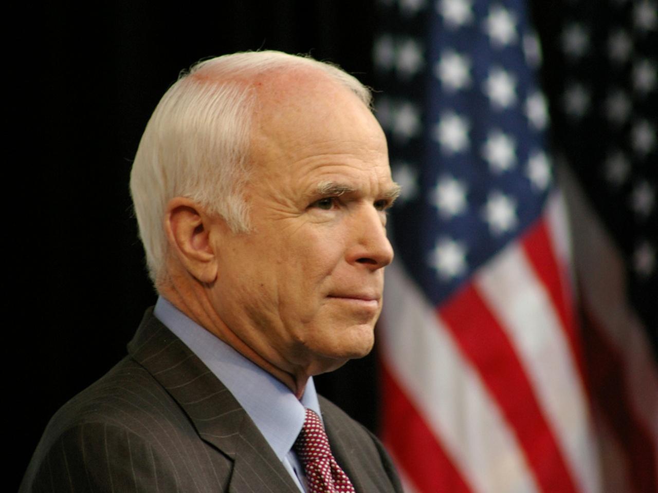 Senator John McCain's Remarks at the 2017 Liberty Medal Ceremony
